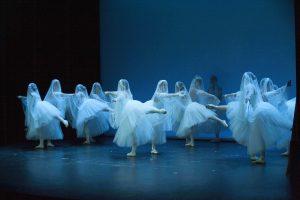 espectáculo de ballet o danza clásica en charock escuela de baile