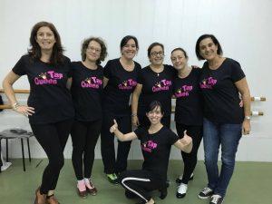 grupo de tap queen de la escuela de danza charock