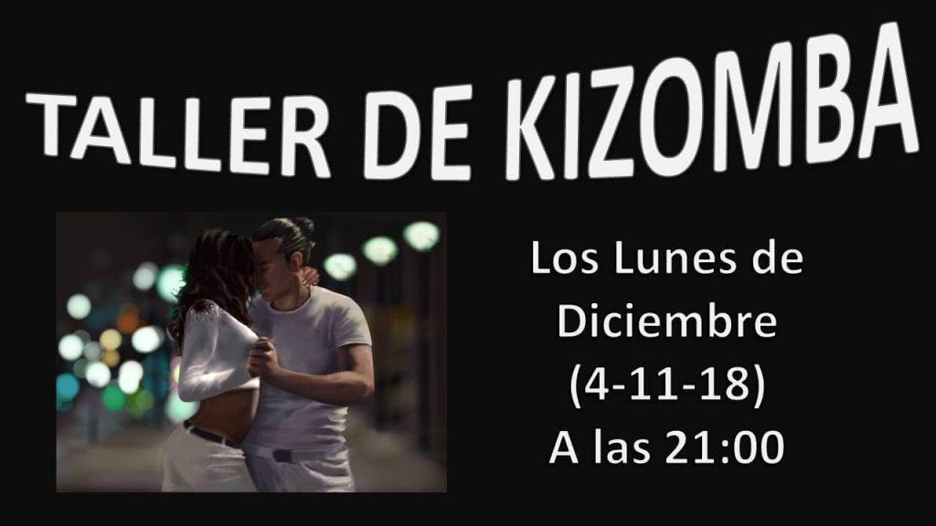 taller de kizomba los lunes del mes de diciembre en charock tu escuela de baile y danza en tres cantos.