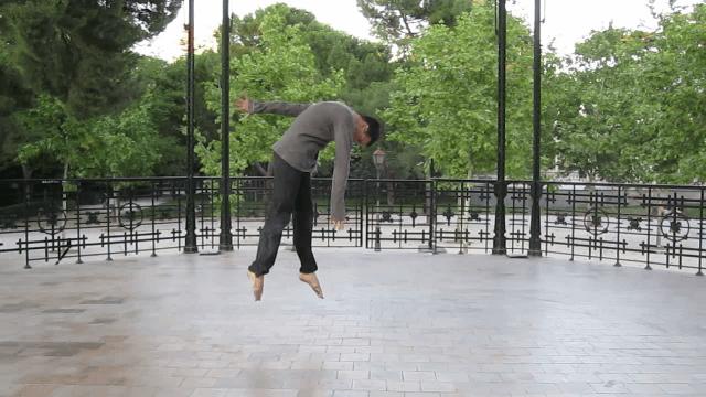 jorge calvo profesor en charock escuela de baile