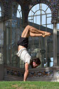 Profesor de pilates en charock David Berges de Miguel