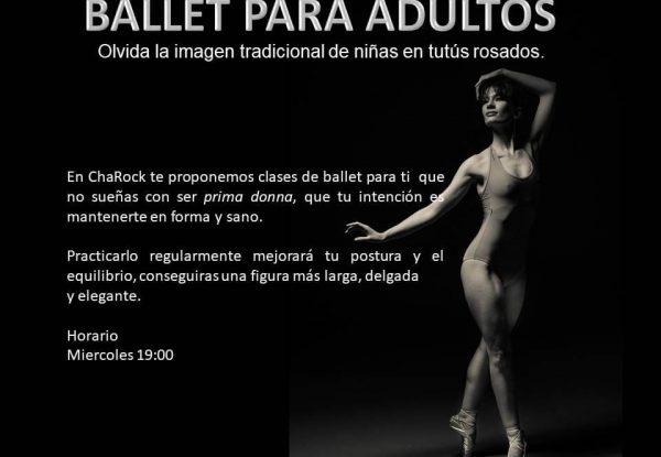 ballet adultos en charock tu escuela de baile y danza