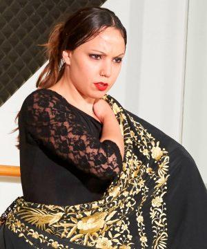 belen profesora de flamenco charock