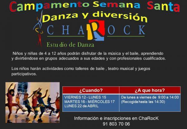 campamentos de semana santa danza y diversión en charock 2019