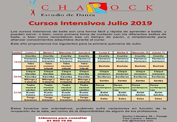 cursos intensivos 2019 charock