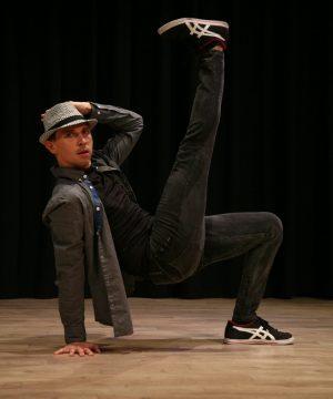 jorge calvo profesor de danza en charock escuela de baile en tres cantos