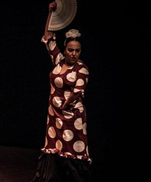 María José nueva profesora de la disciplina de flamenco en charock escuela de baile