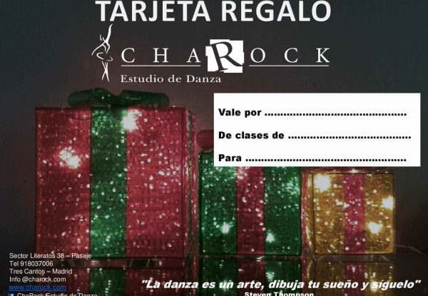 tarjetas-regalo-baile charock escuela de baile tres cantos